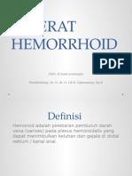 Referat Hemorrhoid