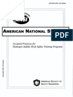 ANSI - H2S Training Programs
