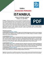 Istanbul 11.04. Specijalna Ponuda 2015. Big Blue