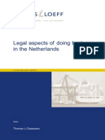 Legal Aspects of Doing Business in the Netherlands