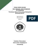 Perizinan Peternakan di Bandung Barat