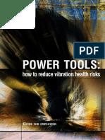 Powertools - How to Reduce Vibration Risks INDG338