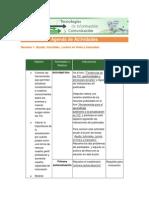 Agenda Actividades PDF