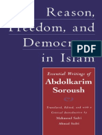 Islam Democracy Politic, by Soroush