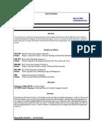 Jobswire.com Resume of joelfre