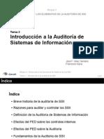 Presentacion - Tema 2 - Introduccion a La Auditoria de Sistemas de Informacion