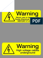 Electricity Signs v95&97