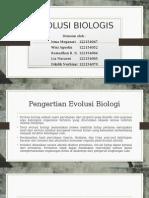 EVOLUSI BIOLOGIS 2
