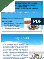 Ley General de Rr.ss presentacion