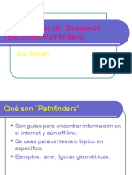 Herramientas de  Búsqueda (Electronic Pathfinders)