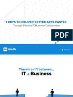 7 Keys to It Business Collaboration Web