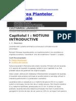 Cultivarea Plantelor Medicinale-LAVANDA.doc