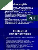 Rhino Pharyngitis