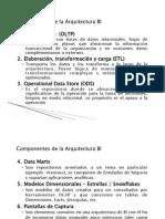 Componentes de La Arquitectura Bi - Parte 2