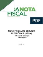 Manual Utilizacao WebService Curitiba