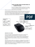 AutoCad en Cuantificación