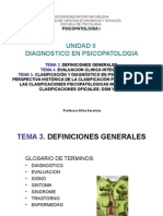 Psicopatologia i Uii