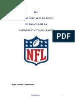 Reglas NFL 2013_F