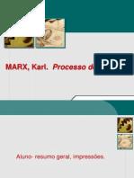 Marx Processo de Trabalho 2 2015