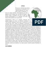 Datos de Africa