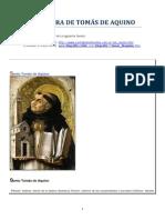 vida y Obra de Tomás de Aquino