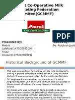 Gujarat Co-Operative Milk Marketing Federation Limited(GCMMF)