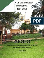 Plan de Desarrollo Municipal del municipio de Apolo 2013_2018