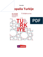 Europalia Turkije themalijst