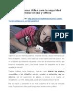 7 aplicaciones útiles para la seguridad familiar online y offline