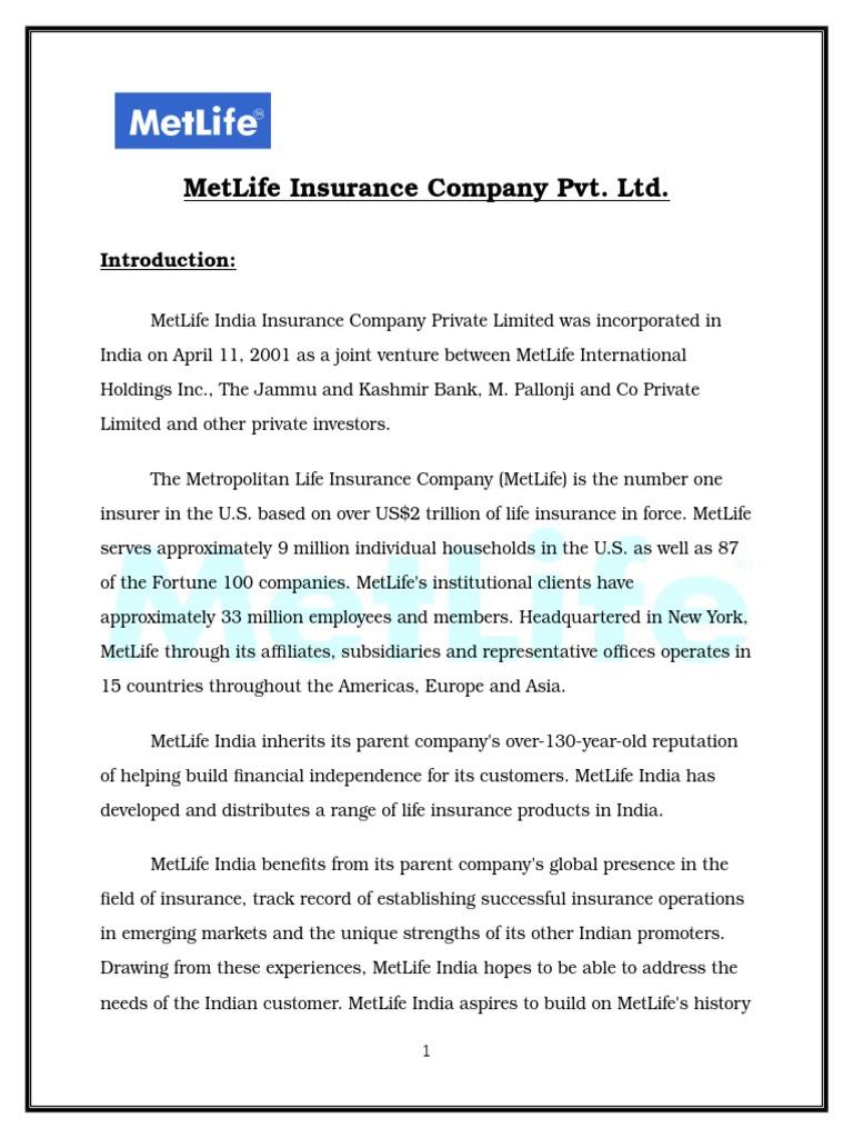 Metlife Life Insurance >> Metlife India Insurance Company Pvt Met Life Life Insurance