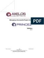 PRINCE2-2009-Syllabus-2011-V1-5