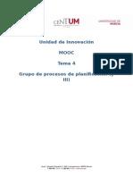 Procesos de Planificación de La Certificación PMP_Modulo4