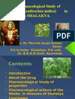 Nimba-azadirachta indica  vs ayurveda