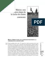 Mexico Una Nueva Etapa de La Lucha de Clases