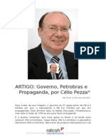 Governo Petrobras e Propaganda