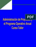 Administración de Proyectos y POA