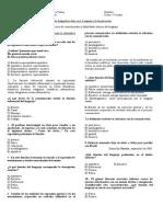Prueba Diagnóstico Segundo Medio 2012