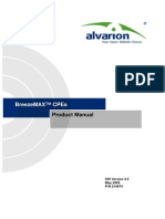 BreezeMAX TDD Ver.4.5 CPEs Product Manual_080513