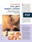 Masajes no-terapéuticos - No curan, pero relajan y alivian