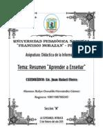 Resumen Didactica de La Informatica