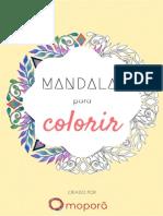 E-book Mandalas Para Colorir