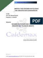 CALDEMAX Proposta 16-2015 Reparos No Telhado Da CSN