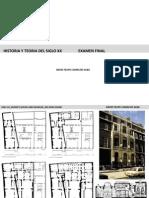 Hisoria de la Arquitectura del s.XX resumen