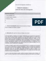Plantilla I - Seminario de Investigacion Academica