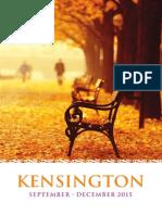 Kensington September December 2015