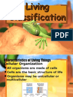 living classification of life  1