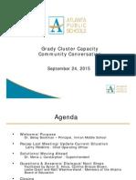 Grady Community Meeting - September 2015