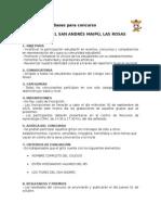 Bases Concurso de Gritos - Colegio San Andrés