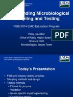 Micro Sampling and Testing