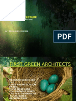 Thesis Green Architecture M Arch